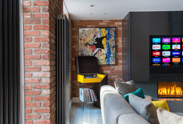 Central london apartment design and fitout by stephen for Interior designers central london