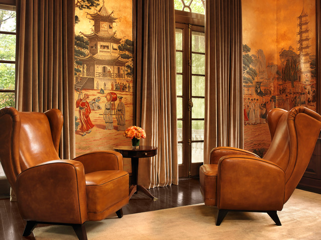 Central West End Residence Asian Living Room By