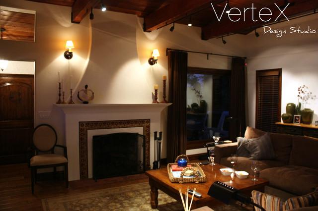 Century City mediterranean-living-room