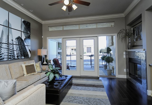 Century Communities at Avalon at Inverness contemporary-living-room