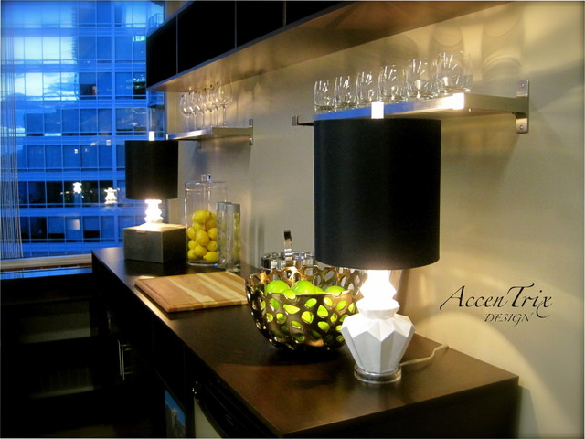 Ceo office space modern living room vancouver by accentrix