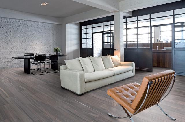 Bon Trendy Living Room Photo In Portland