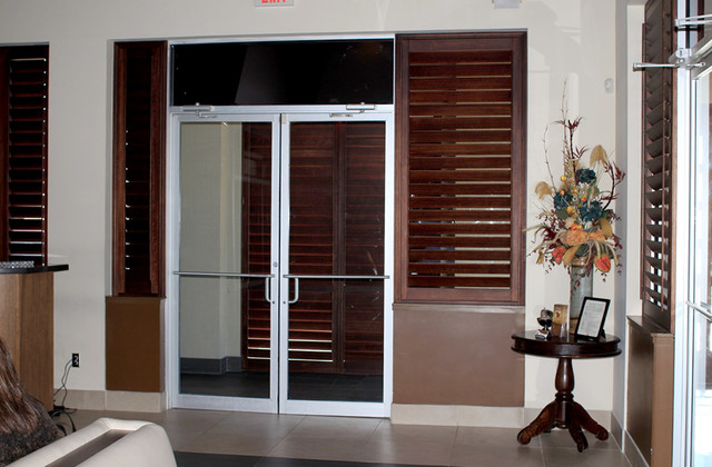 Chama gaucha contemporary living room other metro for Window fashions of texas