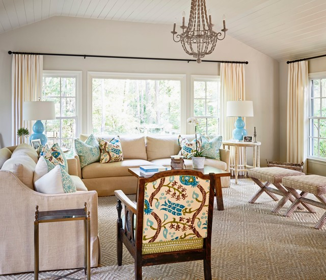 Chancery Place Traditional Living Room by Home