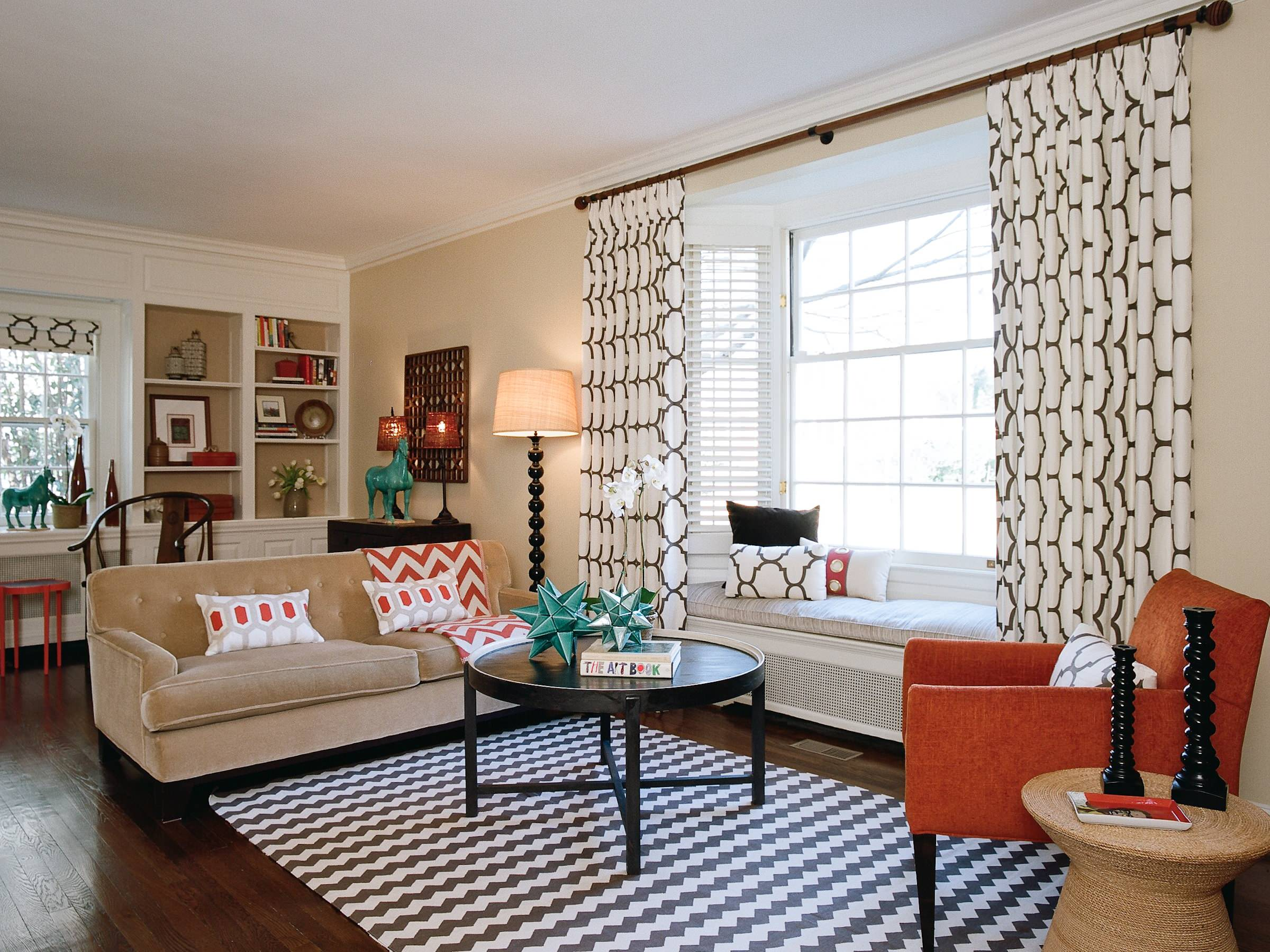 Image of: Bay Window Curtains Houzz