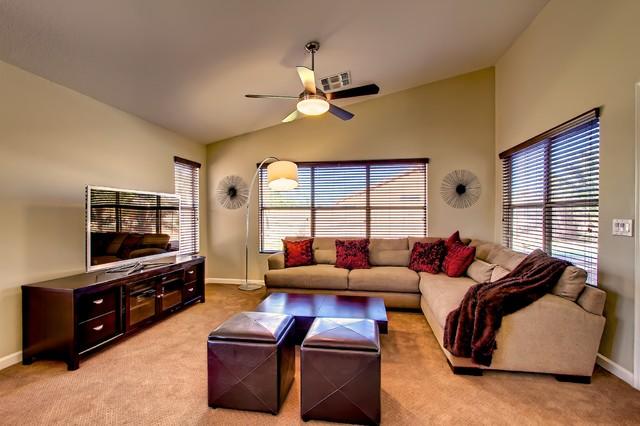 Chandler Contemporary Remodel Contemporary Living Room