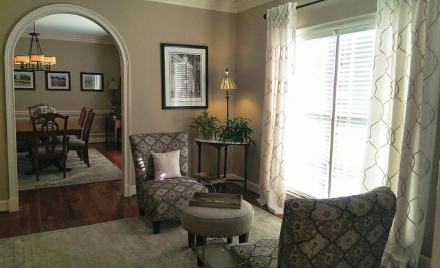 Chandler Residence Transitional Living Room