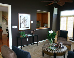 Chapel Grove Model Home contemporary living room