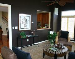 Chapel Grove Model Home contemporary-living-room