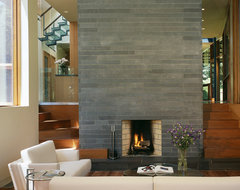 Charles Rose Architects Inc. contemporary-living-room