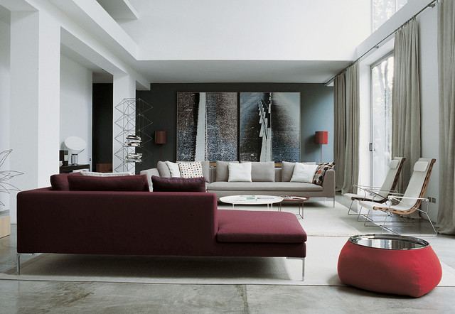 Charles sofa by Antonio Citterio for B&B Italia - Contemporaneo ...