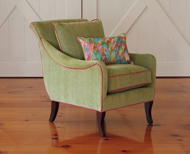 Charleston Chair Modern Living Room Boston By