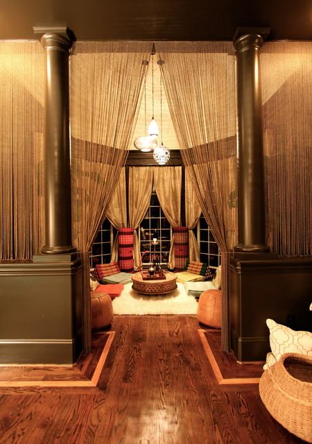 Charlotte Retreat Traditional Living Room Charlotte