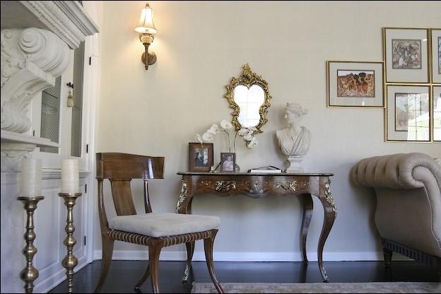 Charmean Neithart Interiors, LLC. traditional-living-room