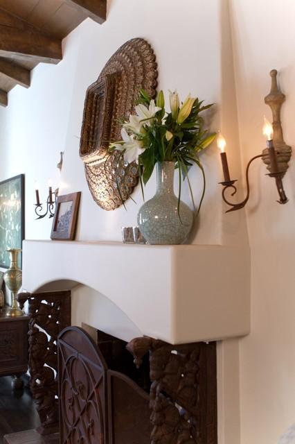 Charmean Neithart Interiors, LLC. mediterranean-living-room