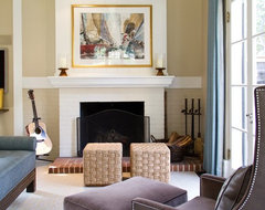 Charmean Neithart Interiors, LLC. traditional living room