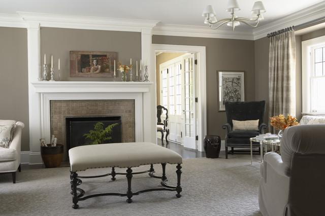 客厅咖啡色细节美式风格装修效果图