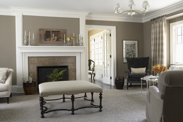 Charming Manor traditional-living-room