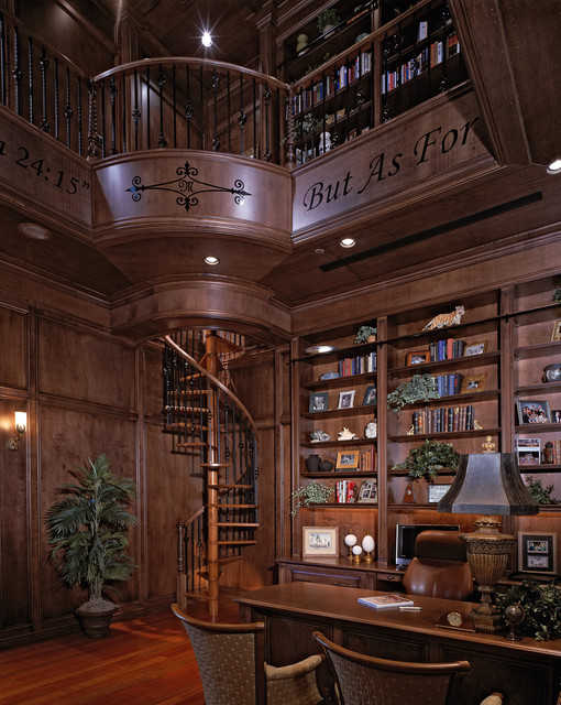 Chateau Vienne | Custom Residence traditional-living-room
