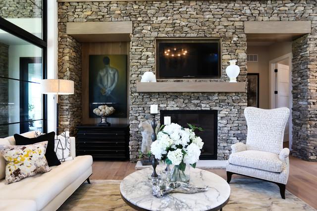 Chatham Hills Blvd farmhouse-living-room
