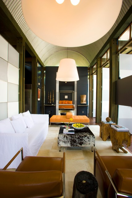 Chatham House contemporary-living-room