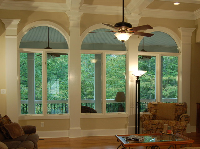 Chatham Park traditional-living-room