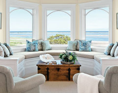 Chatham Residence beach-style-living-room
