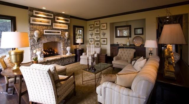 Chattooga Ridge traditional-living-room