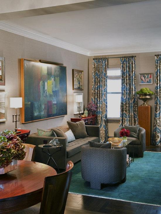 Sea Foam Green Wall Color Living Room Design Ideas