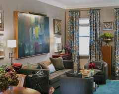 Chelsea Apartment eclectic-living-room