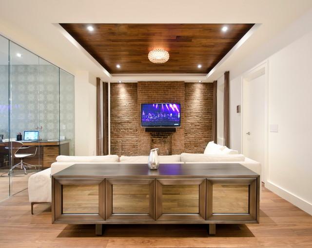 Chelsea Apt. contemporary-living-room