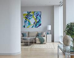 Chelsea Duplex Penthouse modern-entry