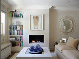 contemporary living room Houzz Tour: Snug London Cottage Has a Spacious Feel (14 photos)