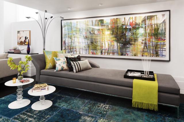 Chelsea Loft modern-living-room
