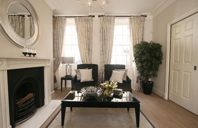 Chelsea london 3 bedroom house for Living room 75020