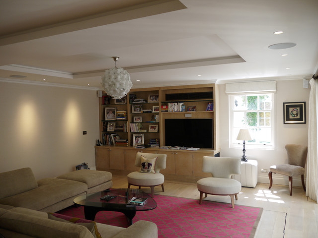 Chelsea Mews contemporary-living-room