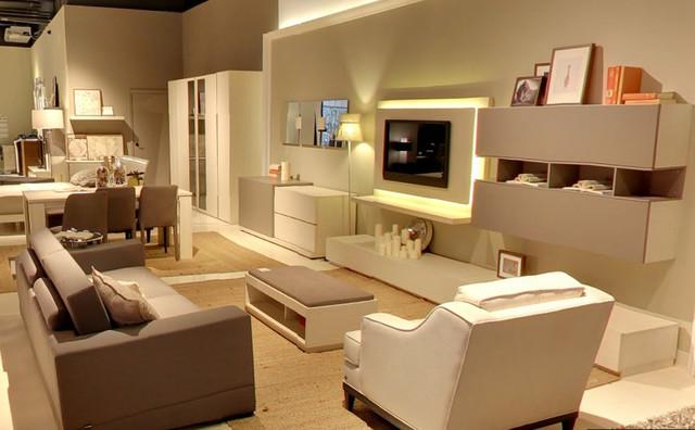 Chelsea Showroom Modern Living Room New York By
