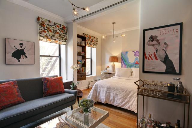 Chelsea Studio Apartment Contemporary Living Room