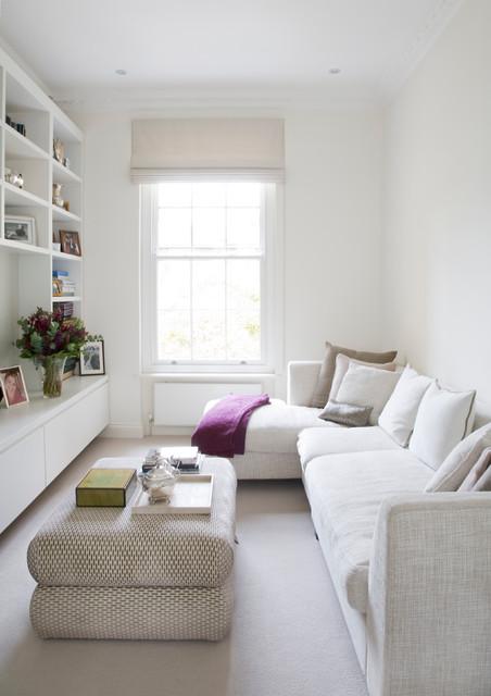 Schmales Wohnzimmer einrichten: 10 Tipps für Schlauchzimmer