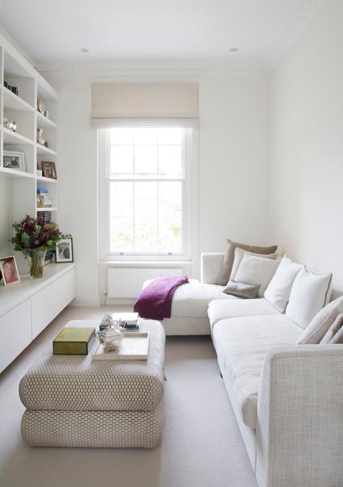 Schmales Wohnzimmer einrichten: 9 Tipps für Schlauchzimmer