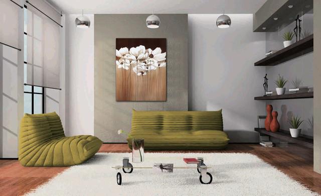 cherokee rose photos on canvas prints living-room