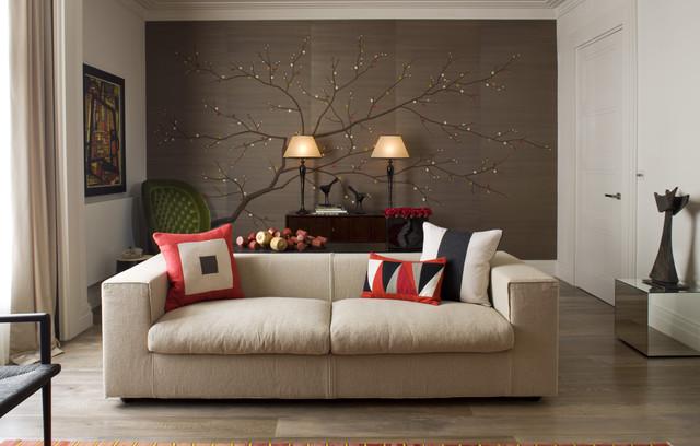 Cherry Blossom In Custom Colourway Contemporary Living