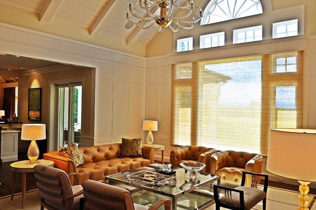 Cherry Hills Estate Contemporary Living Room Denver