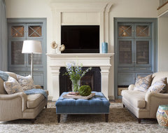 Cherry Hills Remodel transitional-living-room