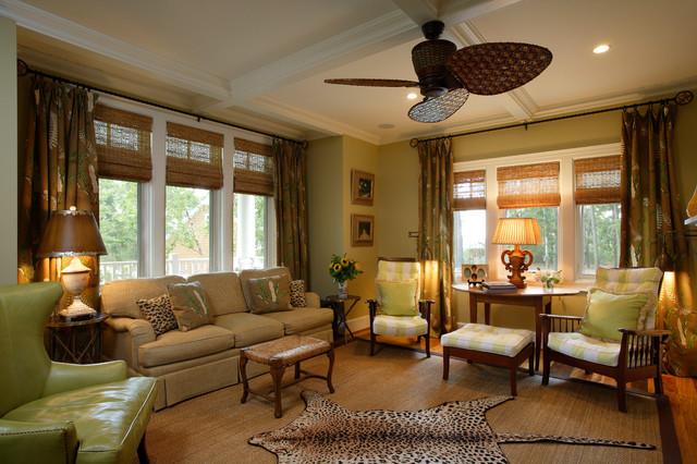 Chesapeake Retreat beach-style-living-room