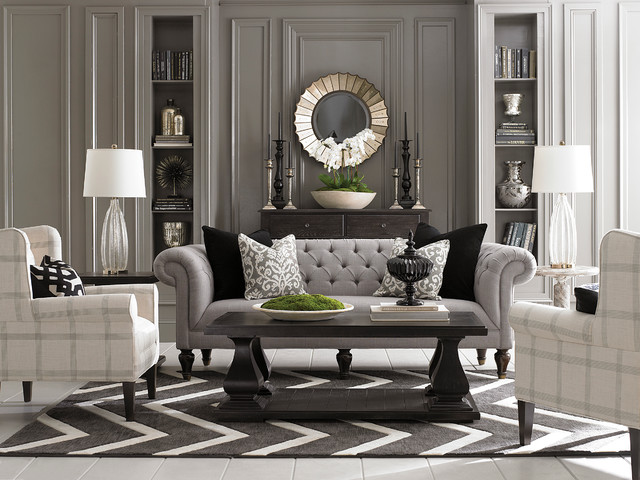 Chesterfield Living Room by Bassett Furniture - Contemporáneo ...