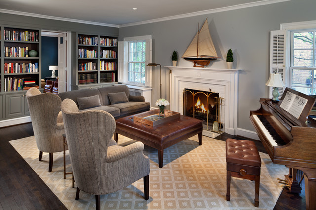 Chevy Chase Home Makeover traditional-living-room