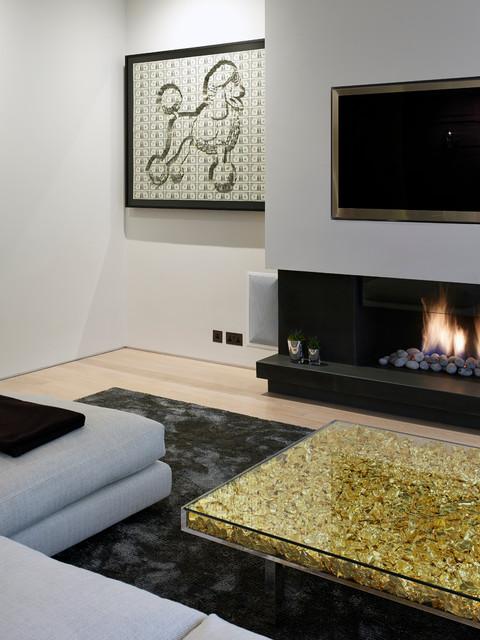 Cheyne gardens contemporary living room london by for Modern garden rooms london
