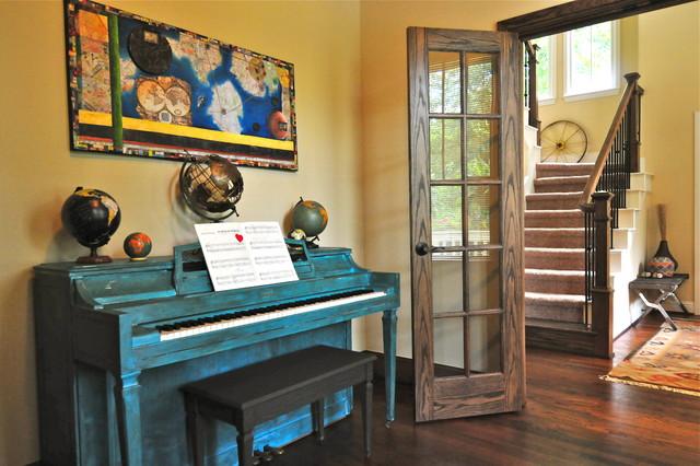 Chez Dickman eclectic-living-room