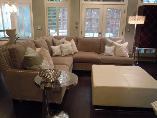 Chic Abode Interiors, LLC contemporary-living-room